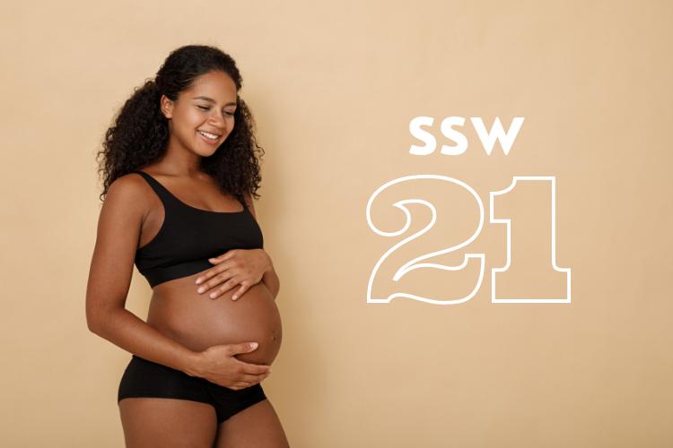 SSW 21: Was passiert in der 21. Schwangerschaftswoche?