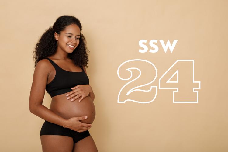 SSW 24: Was passiert in der 24. Schwangerschaftswoche?