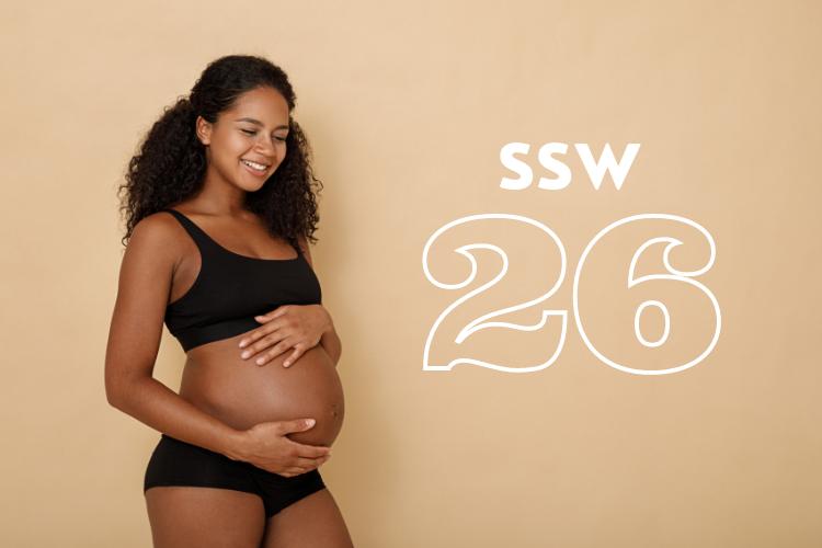 SSW 26: Was passiert in der 26. Schwangerschaftswoche?