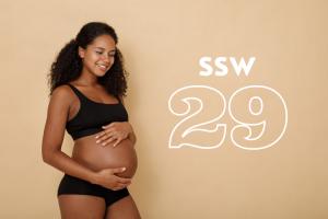 SSW 29: Was passiert in der 29. Schwangerschaftswoche?